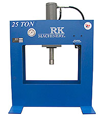 Hydraulic bearing press is a must in every garage