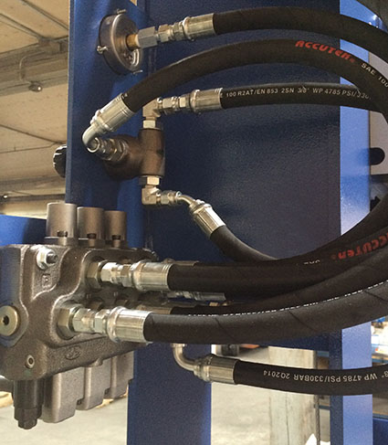 Hydraulic flow system and Unrestricted flow is essential